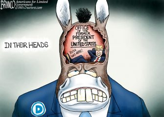 A.F. Branco Cartoon – A Pain in the Burro