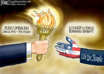 A.F. Branco Cartoon – On Loan From God