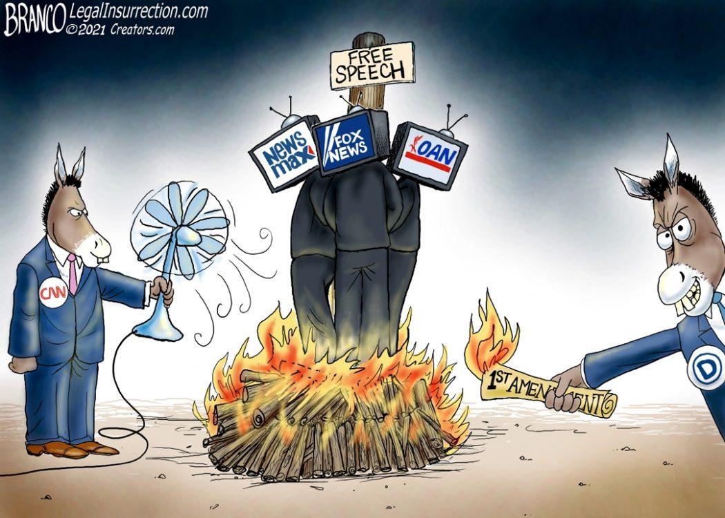 Banning Conservative Media