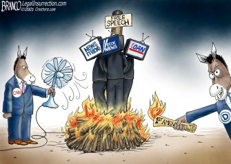 A.F. Branco Cartoon – Pyromaniacs