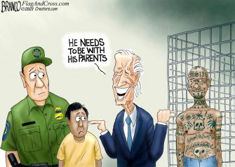 A.F. Branco Cartoon – Custody Battle