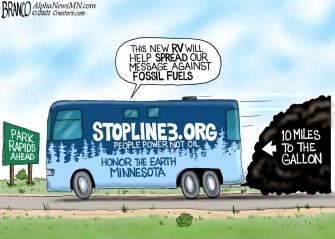 A.F. Branco Cartoon – Road Trip