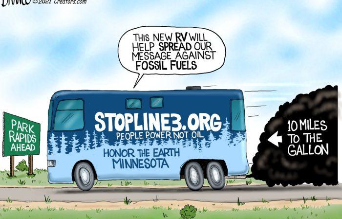 A.F. Branco Cartoon – Road Trip