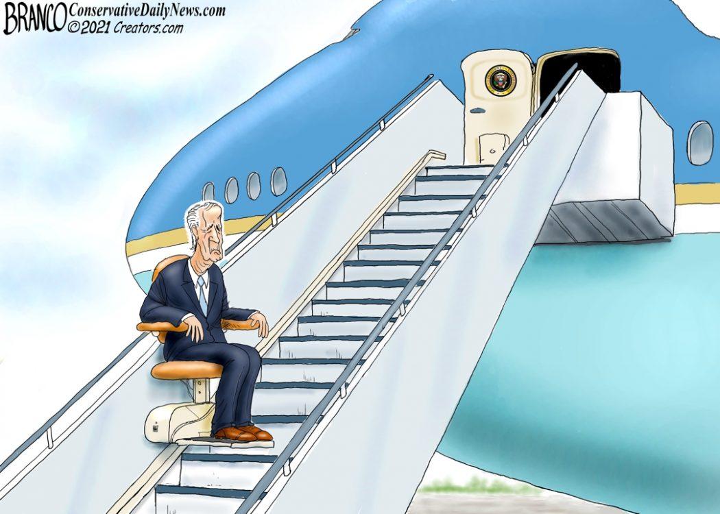 Biden Stairs