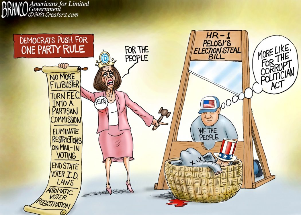 HR 1 Pelosi's Election Steal Bill