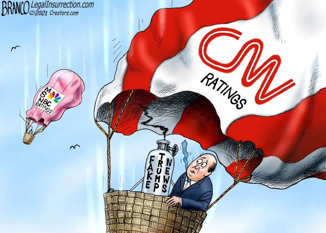 CNN Ratings Down Without Trump