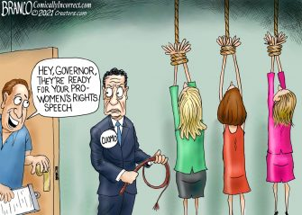 A.F. Branco Cartoon – The Love Gov