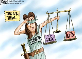 A.F. Branco Cartoon – Weighing the Options