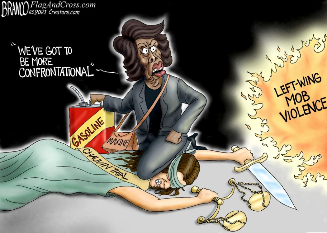 Maxine Waters Chauvin Trial