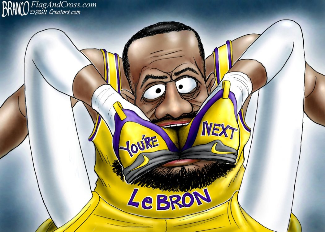 "Le Bron ""You're Next"" Flak"