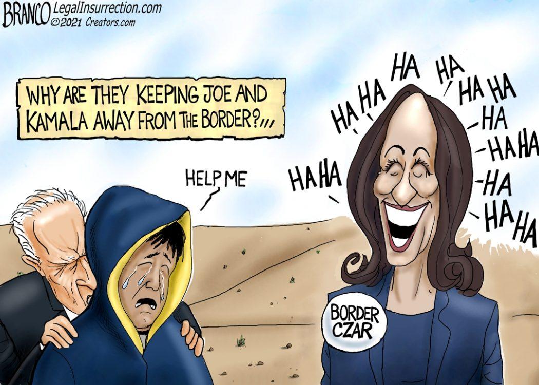 Biden and Kamala at the Border