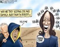 A.F. Branco Cartoon – Border Clowns