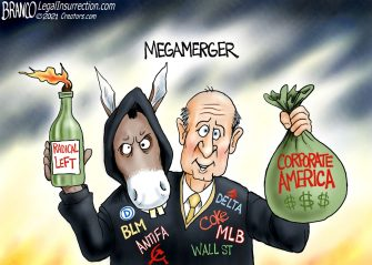 A.F. Branco Cartoon – Conjoined Bullies