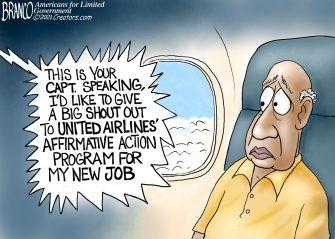 A.F. Branco Cartoon – The Woke Skies