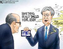 A.F. Branco Cartoon – Fishy Bureau of Investigation