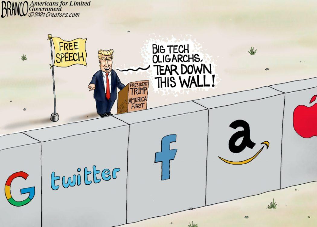 Big Tech Oligarchs Blocking Free Speech