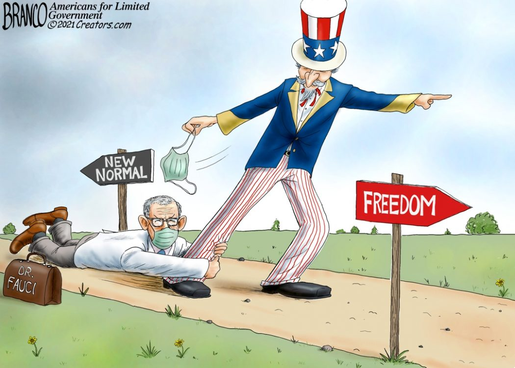 Fauci a Drag on Freedom