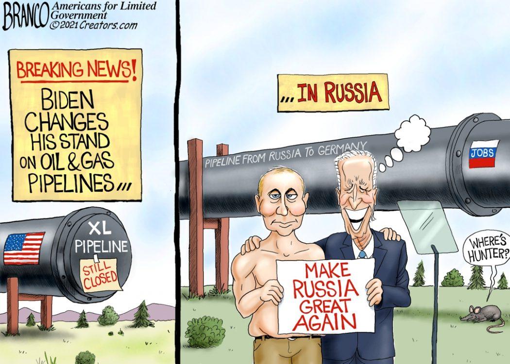 Biden Okay with Russia Pipeline