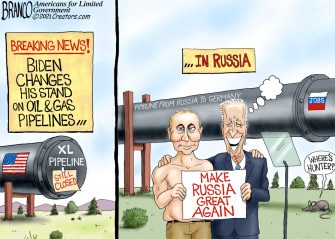 A.F. Branco Cartoon – Putin's Puppet