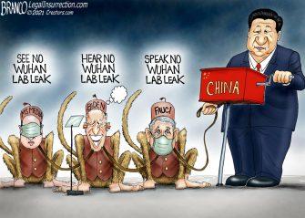 A.F. Branco Cartoon – Monkey Business