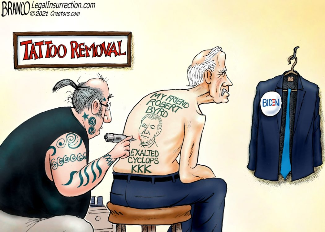 Biden and KKK Senator Byrd