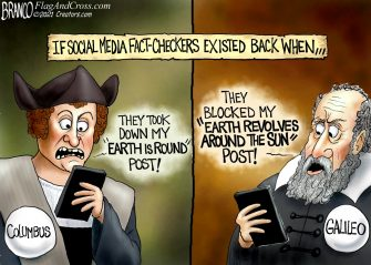 A.F. Branco Cartoon – What Coulda Been