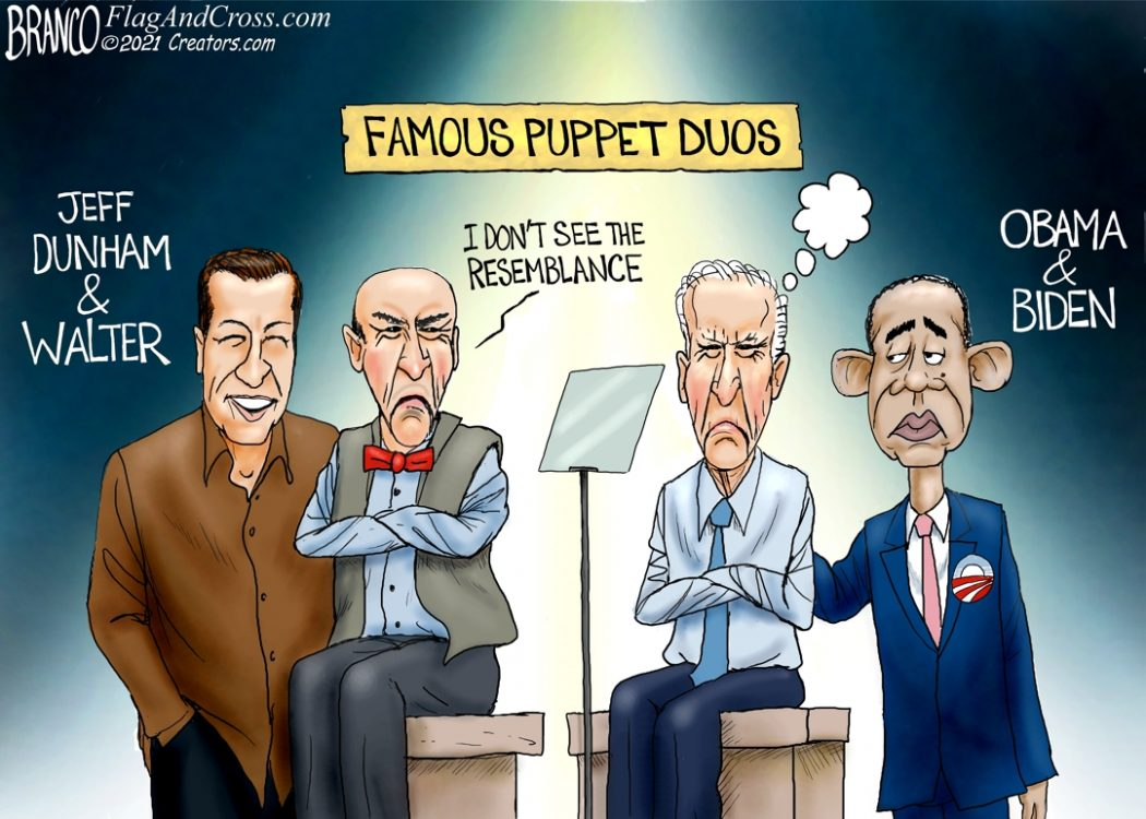 Biden Obama Puppet