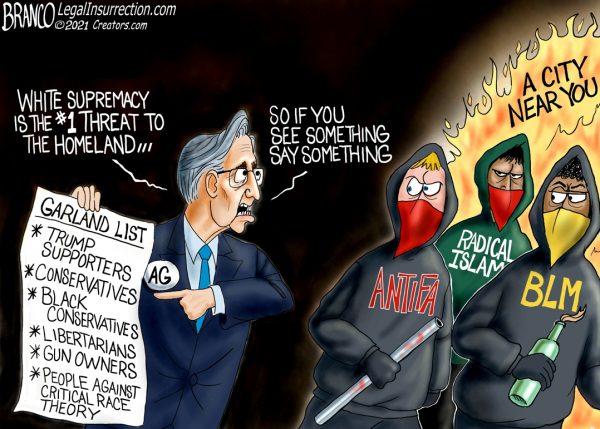 A.F. Branco Cartoon – Enemies List