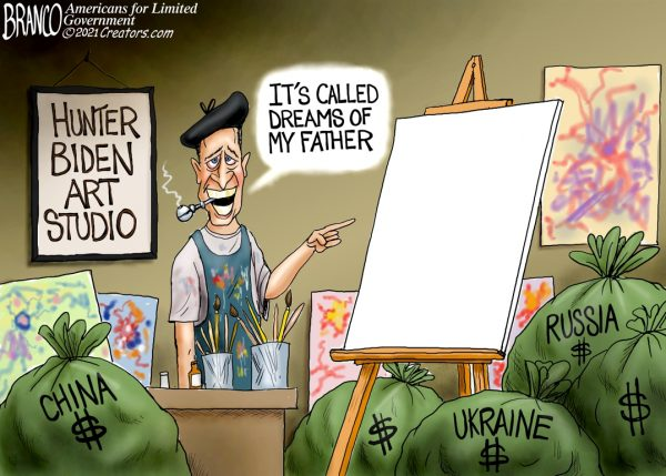 A.F. Branco Cartoon – Quid Pro Art Show