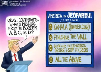 A.F. Branco Cartoon – Destroying America for 200