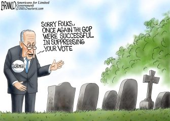 A.F. Branco Cartoon – Dying To Vote