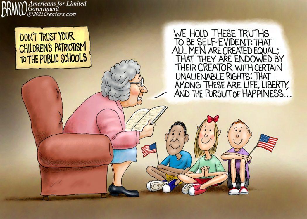 Teach Your Kid Patriotism