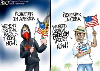 A.F. Branco Cartoon – Let Freedom Reign