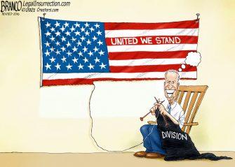 A.F. Branco Cartoon – Destructing America