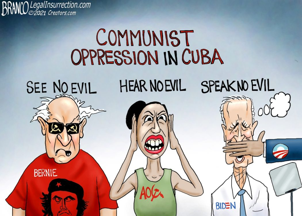 American Socialist Ignore Cuba