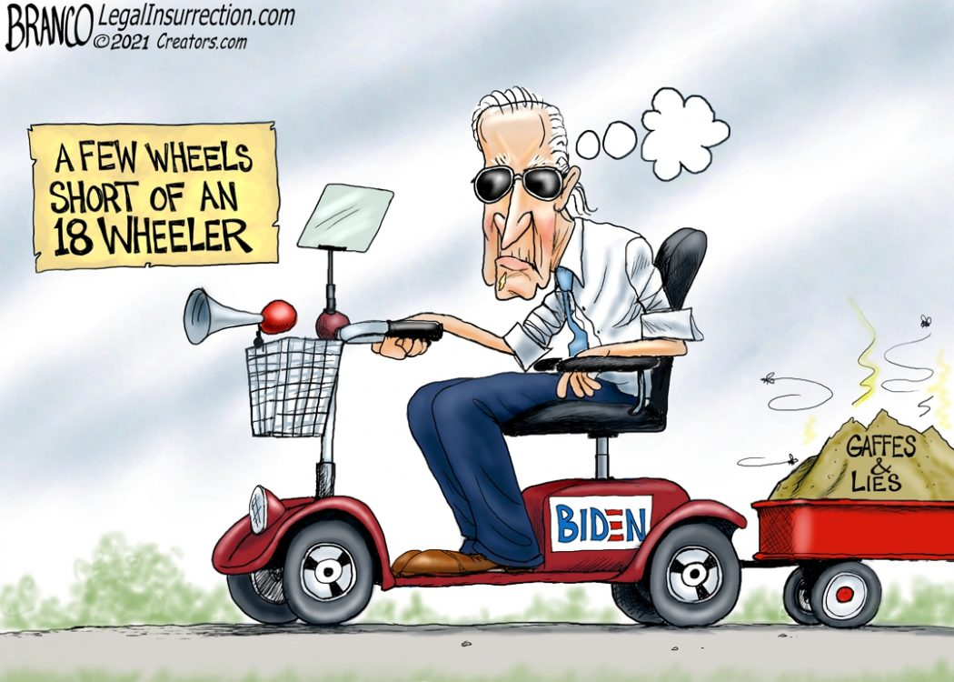 Biden 18 Wheeler Lie