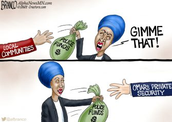 A.F. Branco Cartoon – Safety For Me, None For Thee