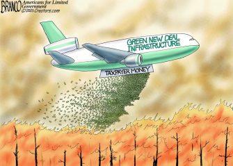 A.F. Branco Cartoon – Frequent Liar Miles