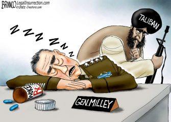 A.F. Branco Cartoon – General Oblivious