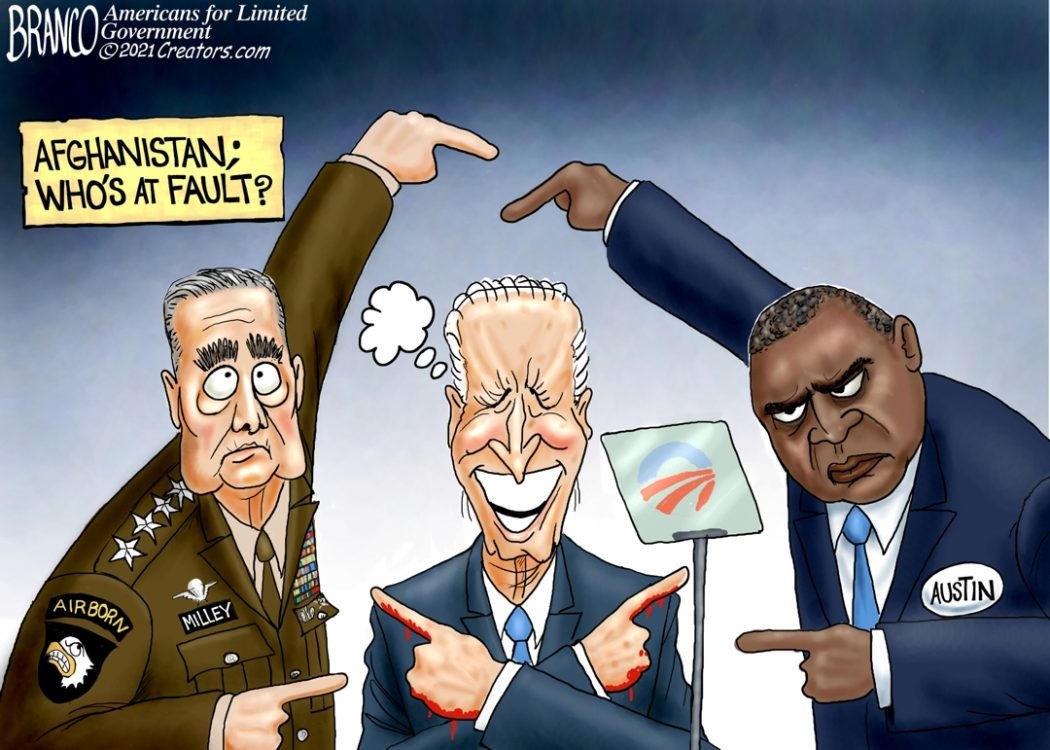 Milley, Biden, Austin blame Game