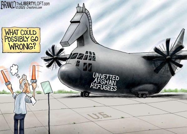 A.F. Branco Cartoon – Flight Risk