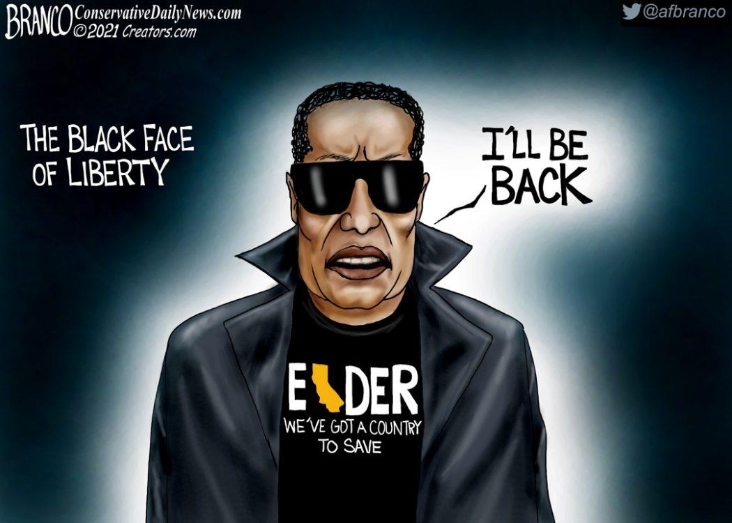 Larry Elder, Black Face of Liberty