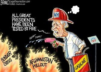 A.F. Branco Cartoon – Fire Marshal Joe