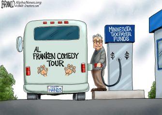 A.F. Branco Cartoon – No Laughing Matter