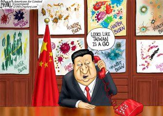 A.F. Branco Cartoon – Art of Diplomacy