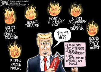 A.F. Branco Cartoon – Biden Burnout