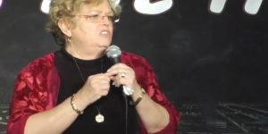 Mrs. Hughes Serves Up Old-Time Great, Stand-Up Humor! (Video)