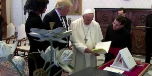 Donald Trump Has Lunch With the Pope and MSM Reports...