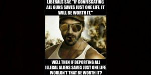 The Left Wants to Ban Guns Rather Than Deport Illegals!