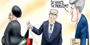A.F. Branco Cartoon - Death to Iran Deal